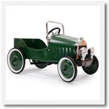 Baghera Classic Green Pedal Car
