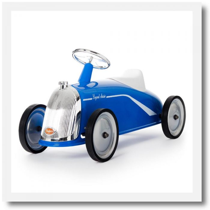 Baghera Rider Legend Blue Ride-On Car