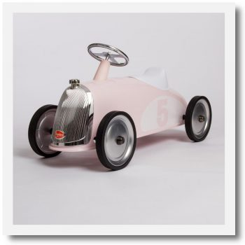 Baghera Rider Petal Pink Ride-On Car