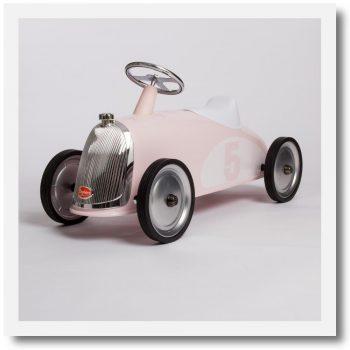 Baghera Rider Petal Pink Ride-On Car