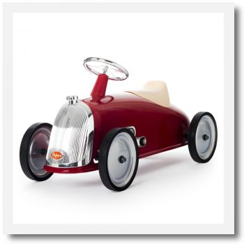Baghera Rider Red Ride-On Car