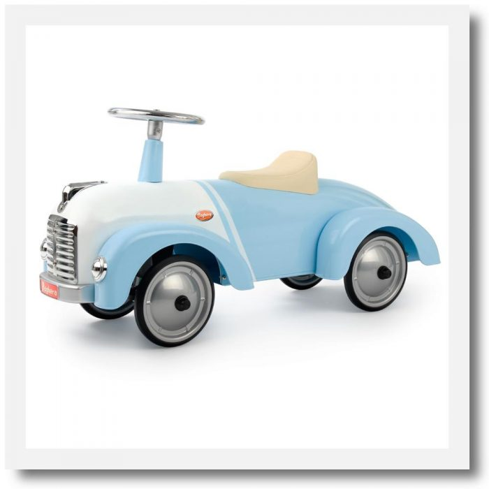 Baghera Speedster New Classic Ride-On Car