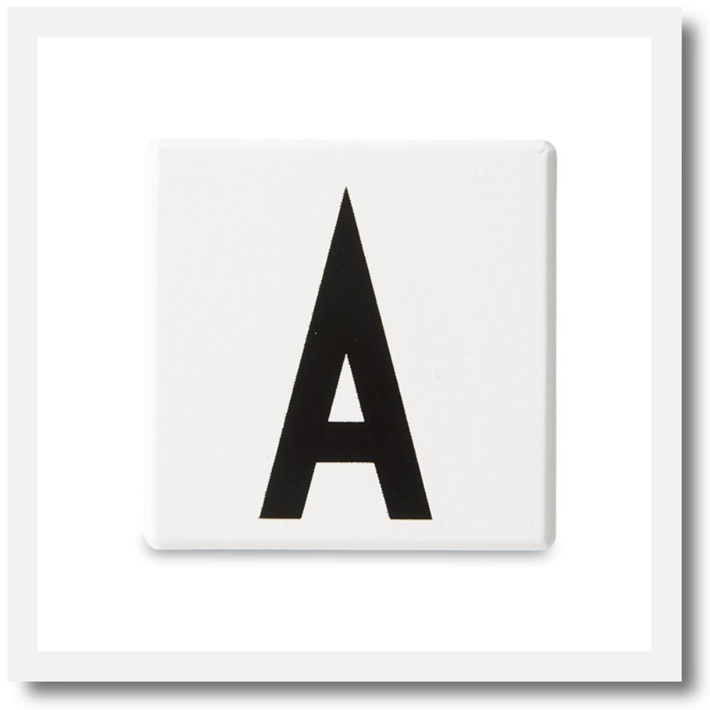 Design Letters Alphabet Blocks A