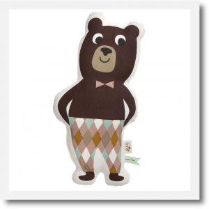 mr bear cushion 1
