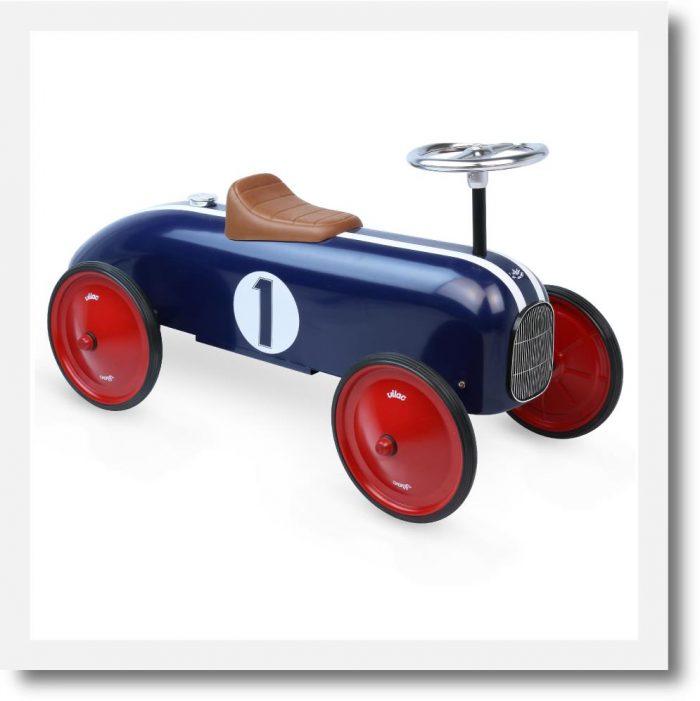 Vilac Blue Ride on Classic Car