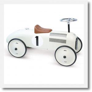 vilac white car 2