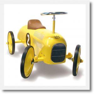 vilac yellow car 3