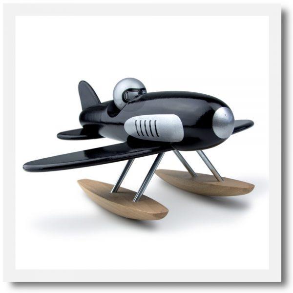 Vilac black seaplane