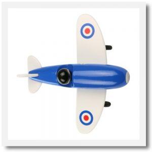 vilac blue aeroplane 1